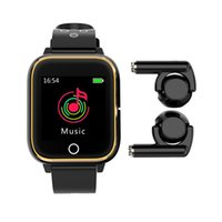 M6 2 in 1 TWS 블루투스 이어폰 + 스마트 시계 팔찌 통화 / 메시지 알림 보수계 Calorie Counter Android 용 심박수 모니터