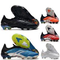 Cheziras Predator 20 Archives Edition limitée FG ZZ ZIDANE DAVID Beckham 23 20 + x Hommes Chaussures de football bon marché Bottes de football originales 39-45