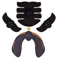 العضلات ماركات عالمية- الذكية EMS الوركين المدرب الكهربائية تحفيز اللاسلكية الأرداف البطن ABS محفز للياقة البدنية الجسم مدلك