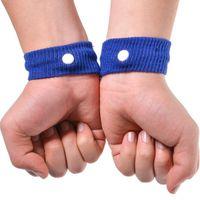 Anti Náuseas apoio para o punho Sports punhos Segurança Pulseiras carsickness Seasick Anti Motion Sickness Movimento Bandas de pulso doente LX3349
