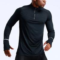 2020 T-Shirts Männer Marke Sport laufen Tops Man Sommer kurze Ärmel drei Farbe Hohe 3D-Reflexion siamesische Handwerk T-Stücke priting