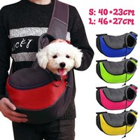 Pet Carrier Sling Backpack Cat Puppy Travel Tote Folding Sin...