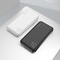 بنك الطاقة 10000mAh لسامسونج شياومي powerbank حزمة البطارية الخارجية شاحن المحمولة مي باوربنك poverbank قوة البنك