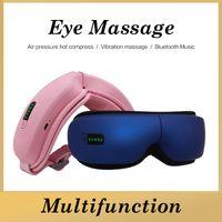Massagem sem fio Massagem Massager Cuidados com os olhos Recarregável Terapia Infravermelha Aquecimento de Aquecimento Vibração PRESSÃO DE AR MASSINAGEM COM BLUETOOTH