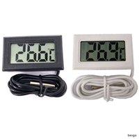 Hogar Mini Digital Termómetro electrónico de la temperatura del LCD Temperatura de Instrumentos sensor probador duradero preciso de temperatura Medidor digital TQQ BH1235