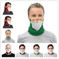 Presentes Escudo Máscara Facial Chirstmas decoração face multi Use Proteção UV Bandana mágica Cachecol Lenço Neck Gaiter Headband Chirstmas fy6093