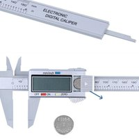 Professional Hand Tool Sets 25#Caliper Gauge Micrometer Model Digital Calipers 6inch Caliper LCD 150mm Electronic Carbon Fiber Vernier 5