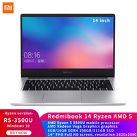 Orijinal RedmiBook Laptop 14 inç AMD Ryzen 5 3500U 8/16 GB RAM 256 / 512GB SSD Bilgisayar Windows 10 Notebook