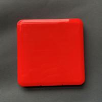 Taşınabilir toz geçirmez Yüz Shield Saklama Kutusu Nem-Proof Tek Kullanımlık Yüz Kapak Organizatör Tutucu Saklama Kutusu CCA12423 120pcs Maske Maske