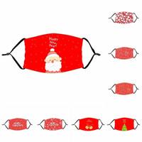 PM2.5 Filtre Eleman Çocuk Ağız Respiratörü Kırmızı Noel Noel Baba ile Yetişkin Yeniden kullanılabilir mascarilla Toz Moda Yüz Maskesi 4 2xt B2 koruyun