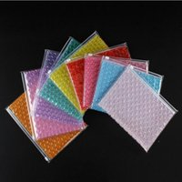 Sac à bulles amortisseurs Sac d'étanchéité PVC Sacs gonflables Cosmétiques Sacs de rangement Cadeau Emballage Sacs Mailing Sacs