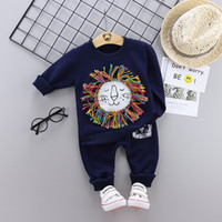 2020 NEW Baby T- shirt Pants 2Pcs Suits Toddler Tracksuits Ch...