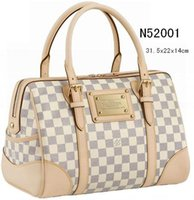 ( 6 style for pick ) very popular recently !!! Classical style new womens The pillow pack tote bags N52000 beige plaid