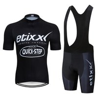 2020 passo TEAM rapida etixx estate Jersey di riciclaggio dei vestiti della bicicletta Ropa Quick Dry Mens bicicletta Pro Cycling imposta pantaloncini bici pad 9D