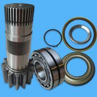 Altalena Riduzione Prop Shaft YM32W01002P1 sferico Cuscinetto YN32W01029P1 paraolio YN32W01081P1 manica e anello di fermo per SK200-8 SK-8