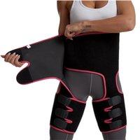 Women Neoprene Slimming Belt Sweat Body Leg Shaper High Waist Trainer Fat Belt Thigh Trimmer Body Shaper Wholesale
