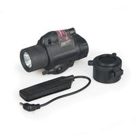 Avcılık M6 El Feneri Açık Işık Kırmızı Lazer Sight ile Kask Kafası Avcılık CL15-0007R