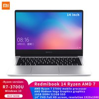 RedmiBook Laptop 14 inç AMD Ryzen 7 3700U 16G RAM 512GB SSD Ayrık Grafik Bilgisayar Windows 10 Notebook
