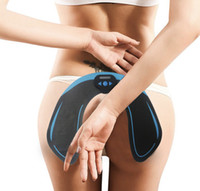 2020 العضلات الذكية الكهربائية تحفيز EMS الوركين المدرب اللاسلكية الأرداف البطن ABS محفز للياقة البدنية الجسم التخسيس مدلك