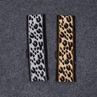 Nuovo CALDO Leopard Print fascia sciarpa 47.2 In Ultra Lunghezza 100% Seta maniglia sciarpa piccolo nastro dei capelli Donna Fashion Bag Hot