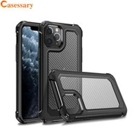 Carbon Fiber Shockproof Hybrid Case for iPhone XS 11 12 Pro ...