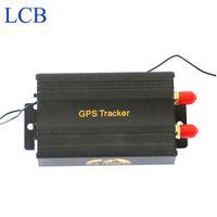 Livraison gratuite en temps réel voiture véhicule Coban gps gsm Tracker avec télécommande moto GPS103B TK103B dispositif de suivi de voiture