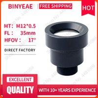 Lente Binyeae M12 FL 35mm Pin Buraco para 1/2 CCD com F2.0 Mini CCTV HD 2.0Megapixel Security Câmeras