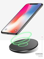 Guter Preis GY68 Wireless-Ladegerät tragbare schnell Platten für iphone 12 XS Pro MAX XR android USB Ladekabel iphone Ladegerät mit Box Lade