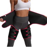 Mulheres Neoprene emagrecimento Belt suor do corpo Perna Shaper cintura alta instrutor gordura da coxa Belt Trimmer Corpo Shaper atacado