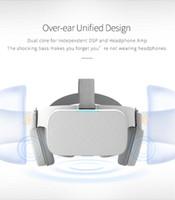 Gözlük Kulaklık Kask Akıllı Ekran Film Müzik Sanal Gerçeklik Bluetooth Shinecon Goggles