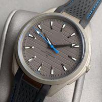 Titanyum Çelik Kauçuk Kayış Erkek Mekanik Otomatik Erkekler Tasarımcı Saatler 150 M Hareketi İzle Katlanır Saatler Toka Saatı