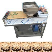 200 kg h máquina comercial / Automático de maní Peeling alta salida de vía seca de maní máquina 220V 740W peladura