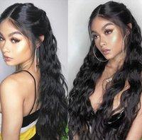 Новый 4 * 4 Silk Base Полный парик шнурка человеческих волос Свободная волна бразильский волос Remy парики Silk Top Glueless для женщин Pre щипковых