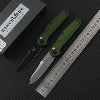 Benchmade 9400 singola azione coltello automatico pieghevole coltello S30V lama in acciaio inox della lega di alluminio esterno pieghevole lama EDC tattico Coltelli