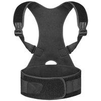 Terapia Posture Corrector Voltar Suporte Brace Spine correta maintien Dos Corretores Houding correes Rug Belt M
