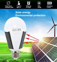 Yeni 7 W 12 W LED Güneş Enerjisi Işık Lambası Taşınabilir LED Güneş Lambası Güneş Enerji Paneli Açık Güneş Işığı Bahçe Kamp Çadırı