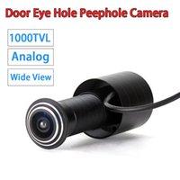Kameras Mini Analog CVBS 1000TVL Türaugenloch Peephol Kamera 170 Grad Weitweiten Ansicht CCD Wired Color Video Viewer