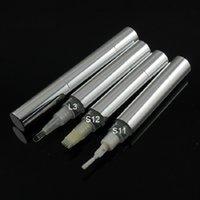Бутылки для хранения JARS Top Grade 5 ML Twist Pen Cosmetic Conseher Пустая серебряная алюминиевая трубка Lipgloss Concealer Refillable упаковочная коробка