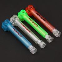 TOPPUFF Top Puff Acrylic Bong portatile Screw-On tubo di acqua di vetro Shisha fumo dell'erba del tabacco Titolare Immediata vite sul narghilé