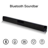 SoundBar 3D الموسيقى صوت شريط المسرح المنزلي aux 3.5 ملليمتر tf للتلفزيون الكمبيوتر 20W المحمولة اللاسلكية العمود بلوتوث المتكلم قوية