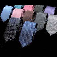 MEN YETİŞKİN Kravat Renk YENİ Kravatlar Boyun Tie Moda Toptan 7cm Kravat Katı Aksesuarlar Cravat Düğün İş Hediye