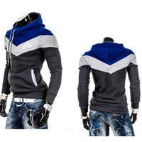 2020 Fashion Hoodie Pants Pullover Men's Colorblock Hooded Sweatshirts Jacket New Wear Casual Tracksuit Clothes for