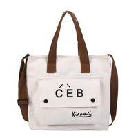 MUQGEW große Kapazitäts-Tasche für Studenten Frauen Brief Messenger Bags Drucken einfache Art-Schultertote Heiße Verkäufe