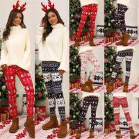 شجرة عيد الميلاد الجوارب السميكة واللباس الداخلي سروال المرأة نحيل الكبس سروال الغزلان عيد الميلاد