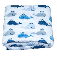 Baby Blanket New Brand Thicken Double Layer Coral Fleece Inf...