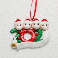 Buque de la fiesta en casa de decoración de DHL 2020 Suministros cuarentena ornamentos de navidad 7 estilos partido del acontecimiento
