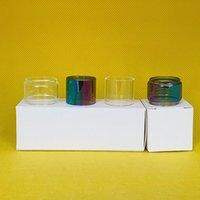 Kangertech Subox Mini-C 3 ml Kit Çanta Normal Ampul Temizle Gökkuşağı Cam Tüp Fatboy Dışbükey Değiştirme 1 ADET / 3 adet / 10 adet Kutu