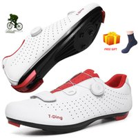 Chaussures de vélo Hommes autobloquants Chaussures Route professionnelle Triathlon Vélo Athlétisme Course SAPATILHA Ciclismo 2020 Chaussures de sport vélo