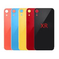 2020 iPhone 8 artı X'in XR XS XSMAX pil cam arka cam yedek arka kapak muhafazası büyük bir delik kamera yok demontaj ile çıkartmalar için