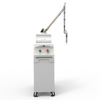 Q Switched ND YAG Laser Tattoo Rimozione 1064 NM / 532 NM Machine per Trucco permanente Rimuovere le lentiggini